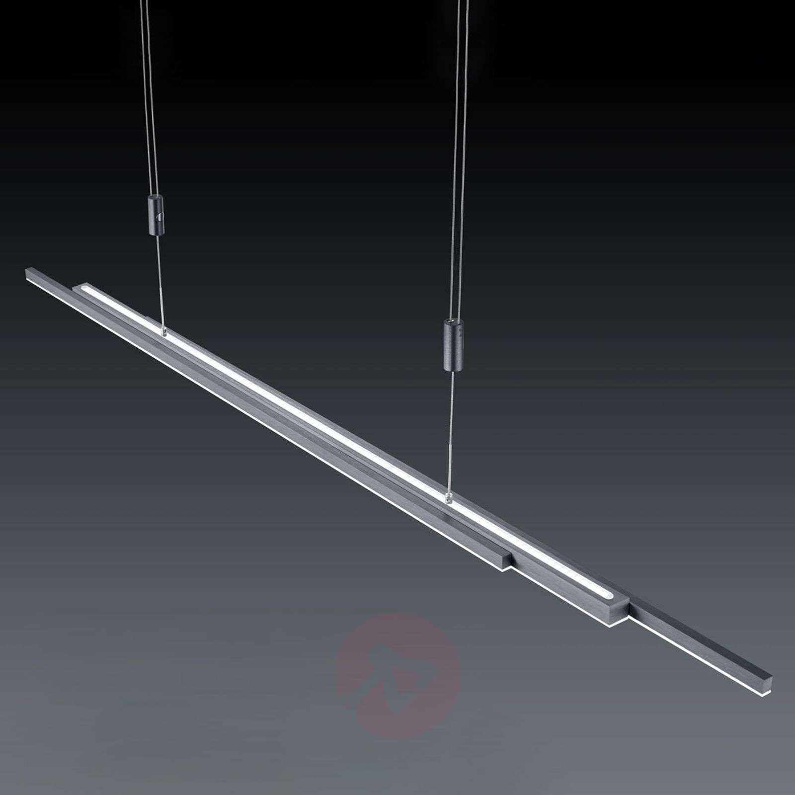 BANKAMP L-lightLINE LED-hanglamp up and down-1572012-01
