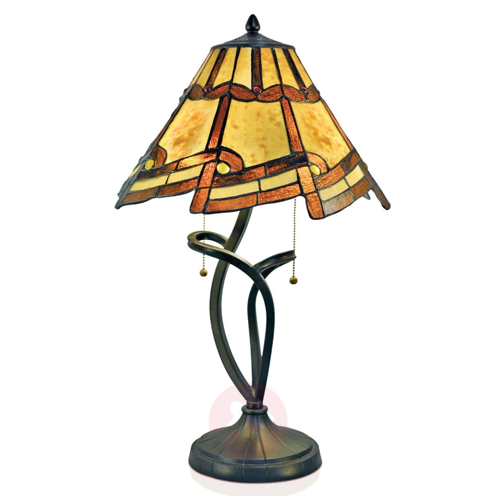 Betoverende hanglamp Parisa in Tiffany-stijl-1032320-01