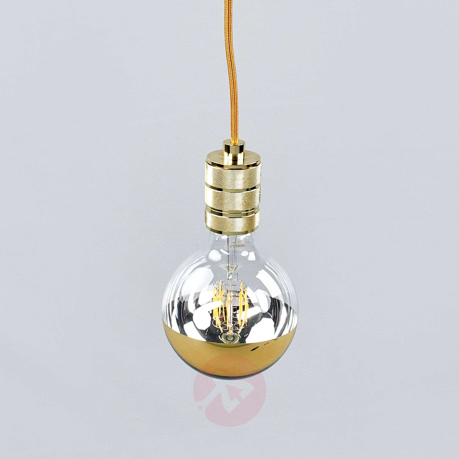 Chique LED-pendellamp Chicago met gouden finish-8536172-01