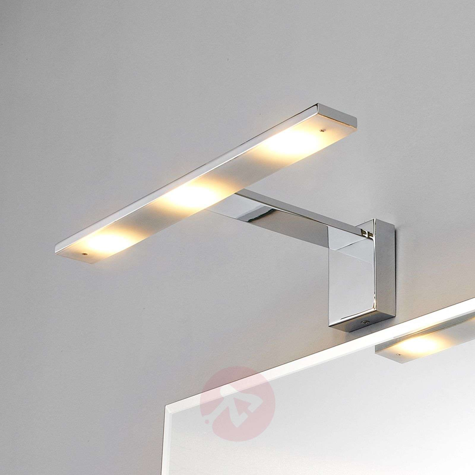 Chique LED-spiegellamp Lorik, chroom-9641010-01