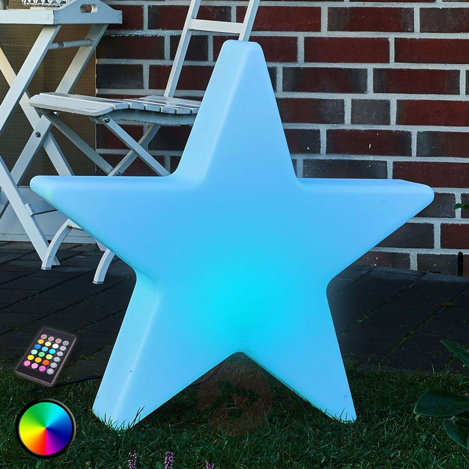 Decoratieve LED-ster Shining Star 80 cm-1004082-01