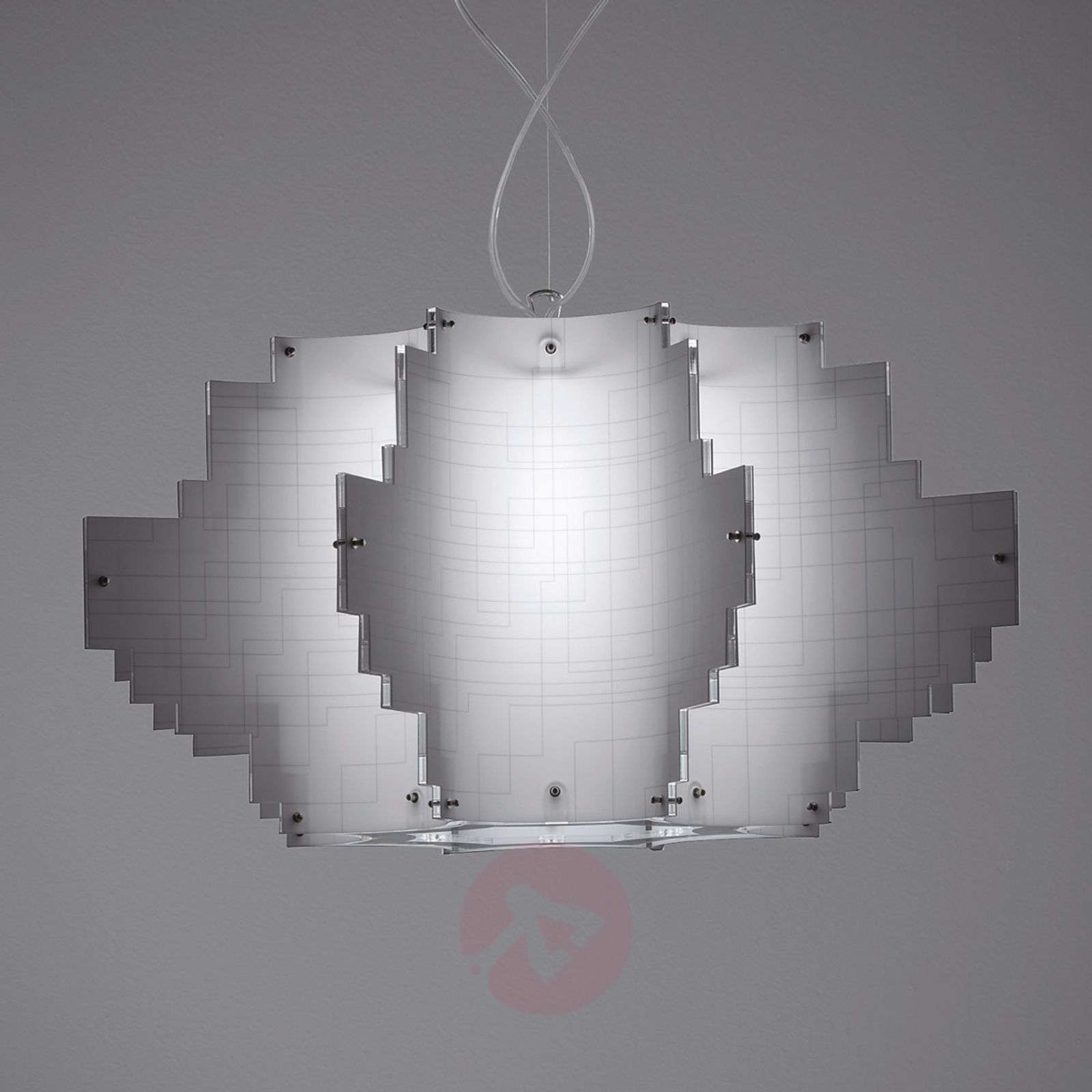 Design-hanglamp Nuvola, wit-1056022-01