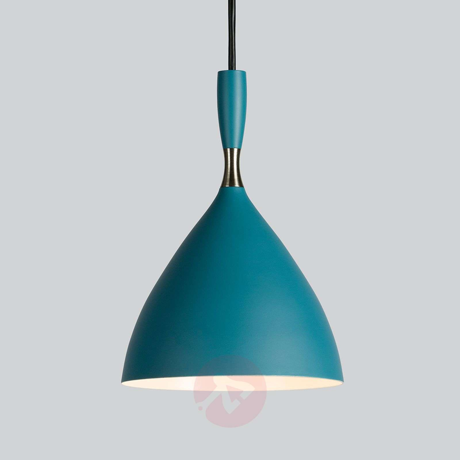 Dokka Retro designerlamp in blauwgroen-7013060-01