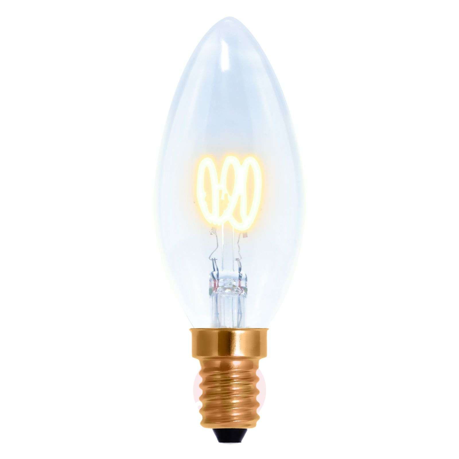 E14 2,7W 922 LED-filament-kaarslamp Curved Line-8536158-01