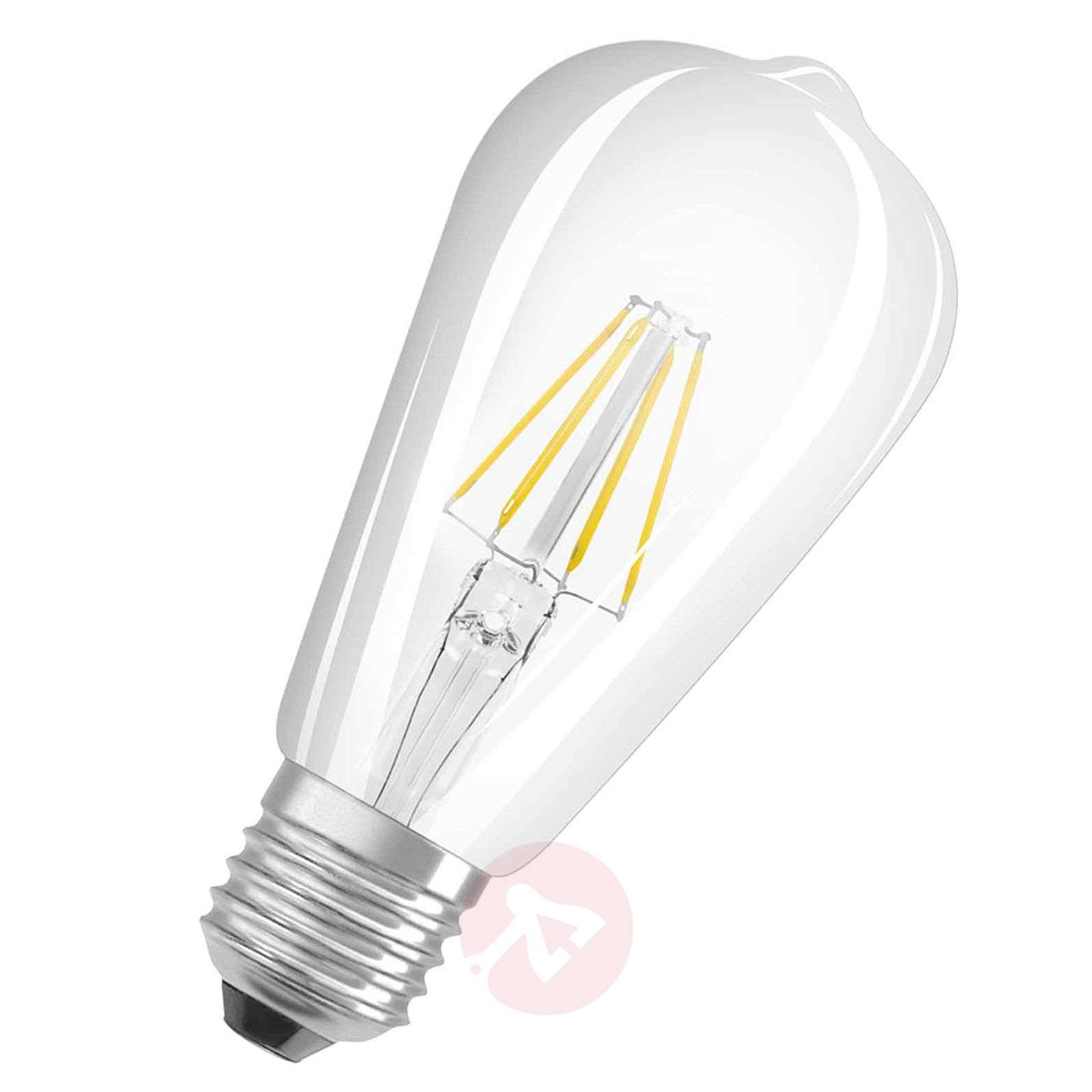 E27 7W 827 Retrofit LED Rustika transparant-7260861-01