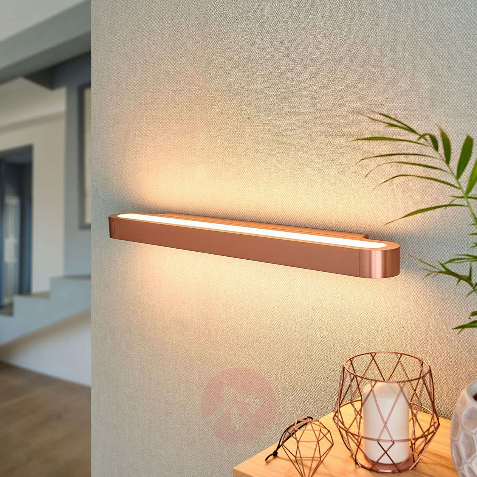 Glanzende LED design wandlamp Talo 60-1060063-01