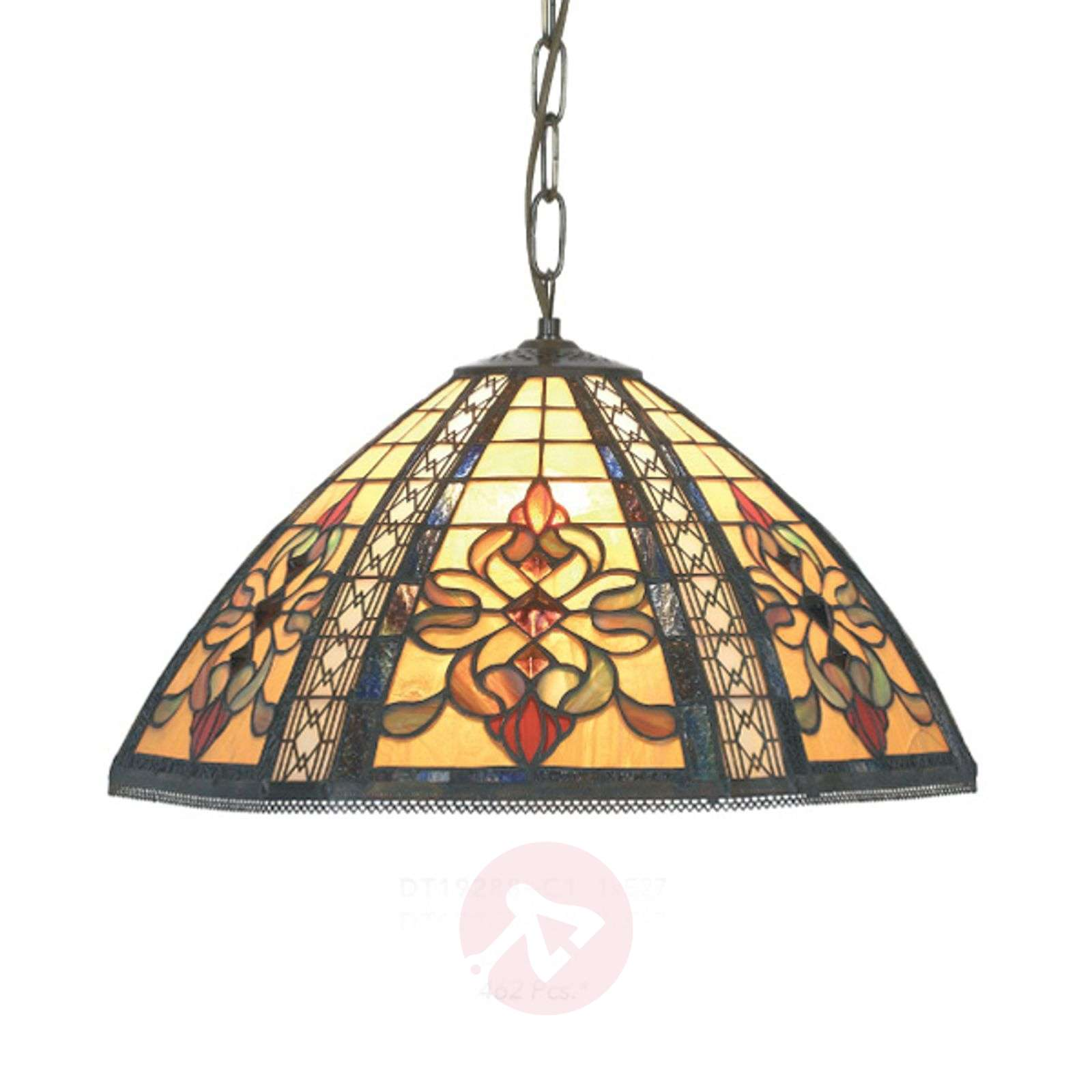 Grote hanglamp Despina in Tiffany-stijl-1032143X-01