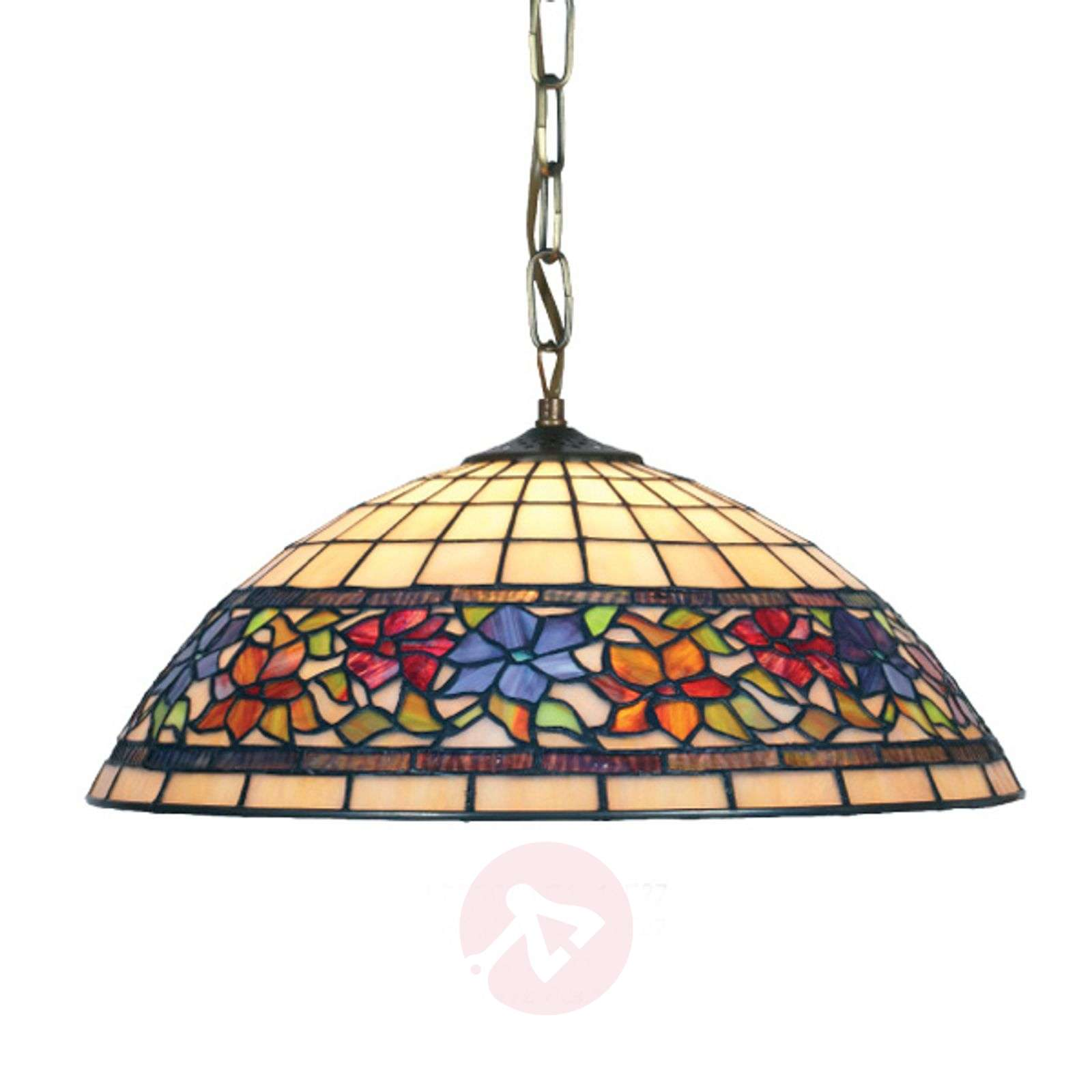 Hanglamp FLORA in Tiffany-stijl-1032126X-01