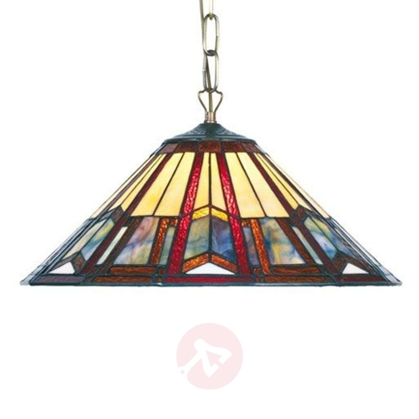 Hanglamp LILLIE in Tiffany-stijl-1032129X-01