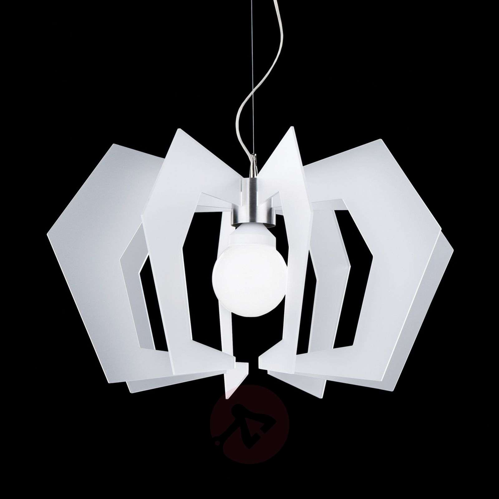 Innovatieve design-hanglamp Spider, wit-1056001-01
