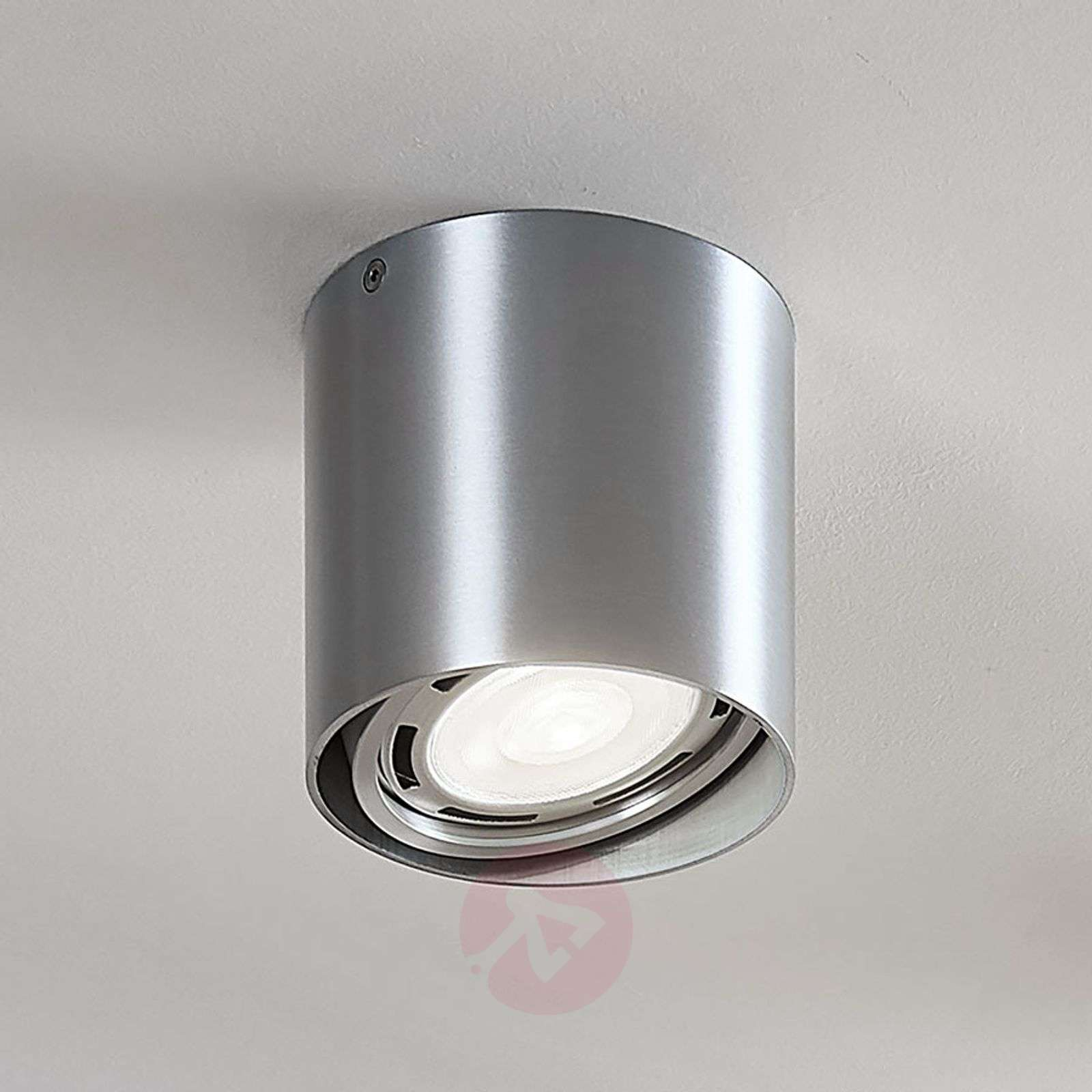 LED downlight Rosalie, dimbaar 1-lamp, rond, alu-9621904-03