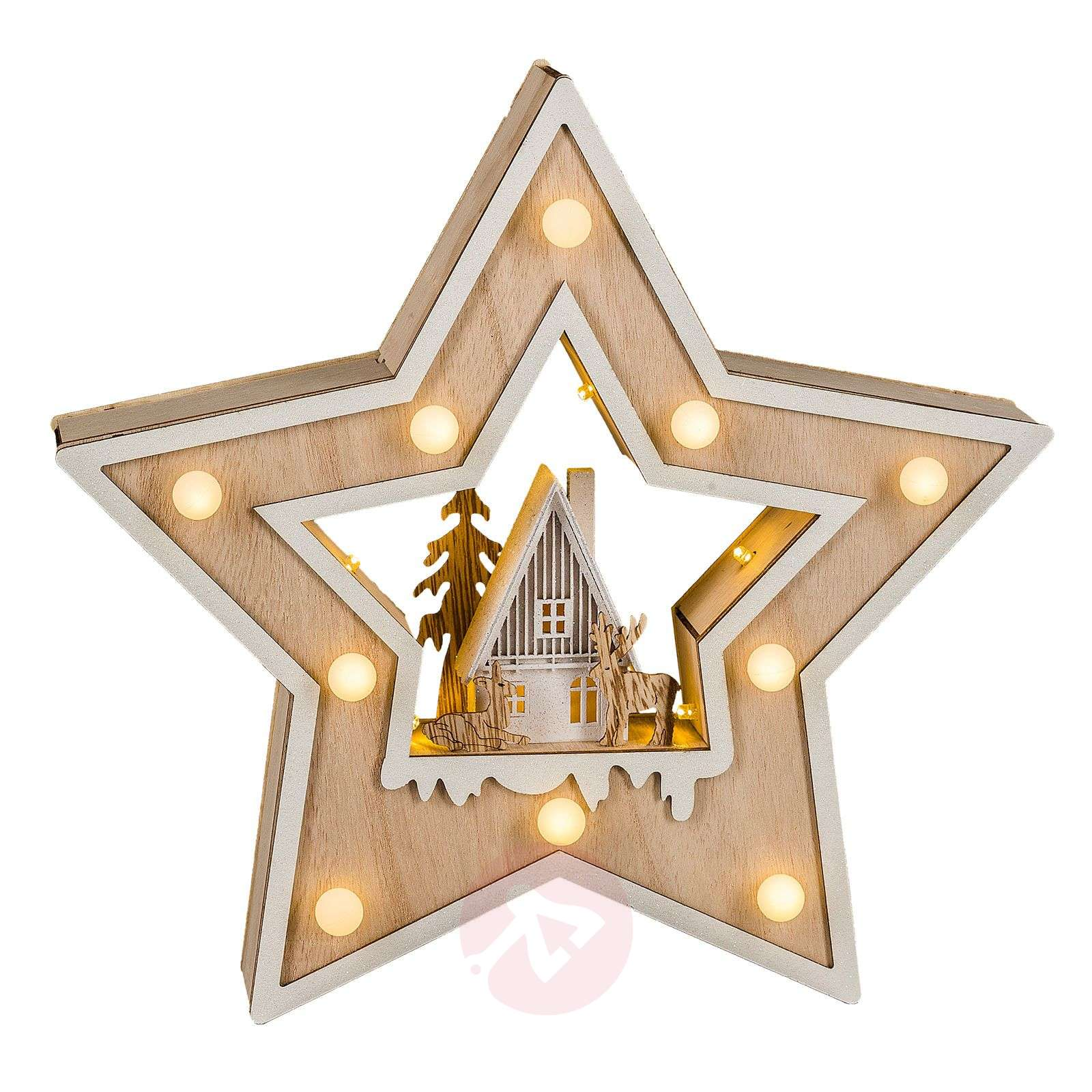 LED-kerstster Country Style-8501250-01