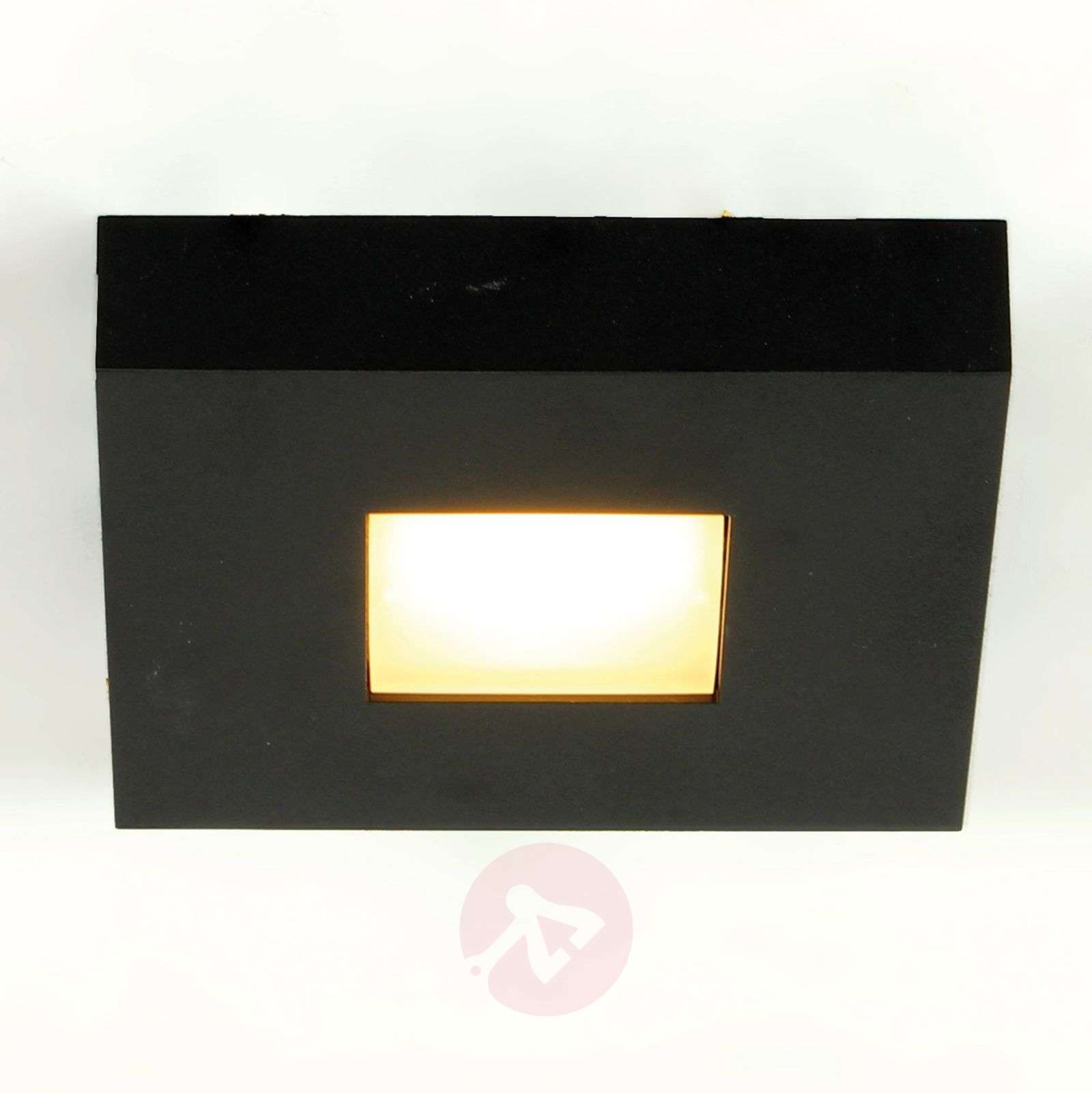 LED-plafondlamp Cubus in zwart-1556135-01