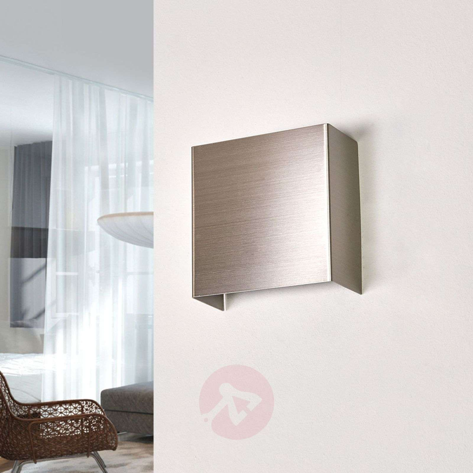 Metalen LED-wandlamp Enja-9994028-01