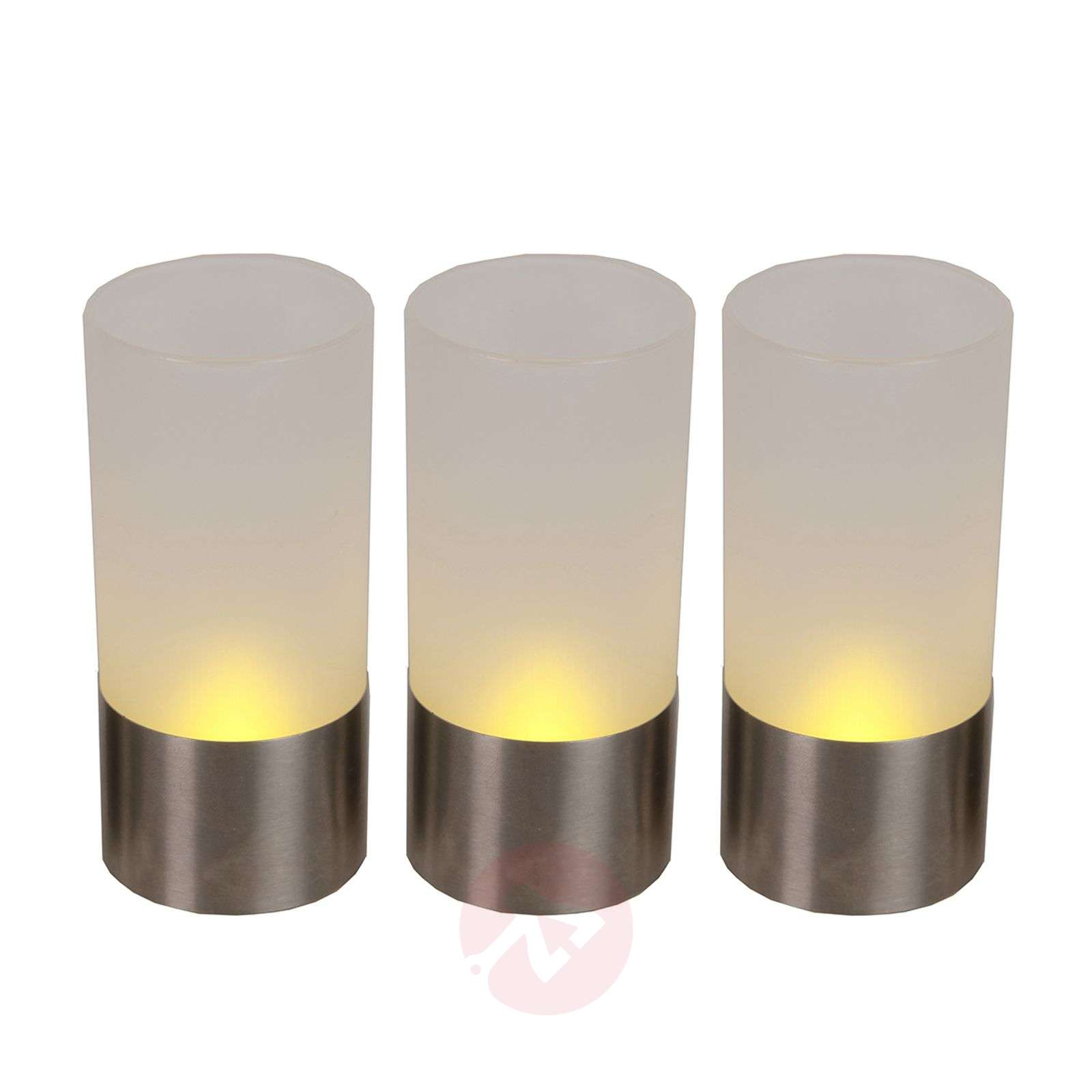 Modern LED-windlicht set van 3-1522733-01