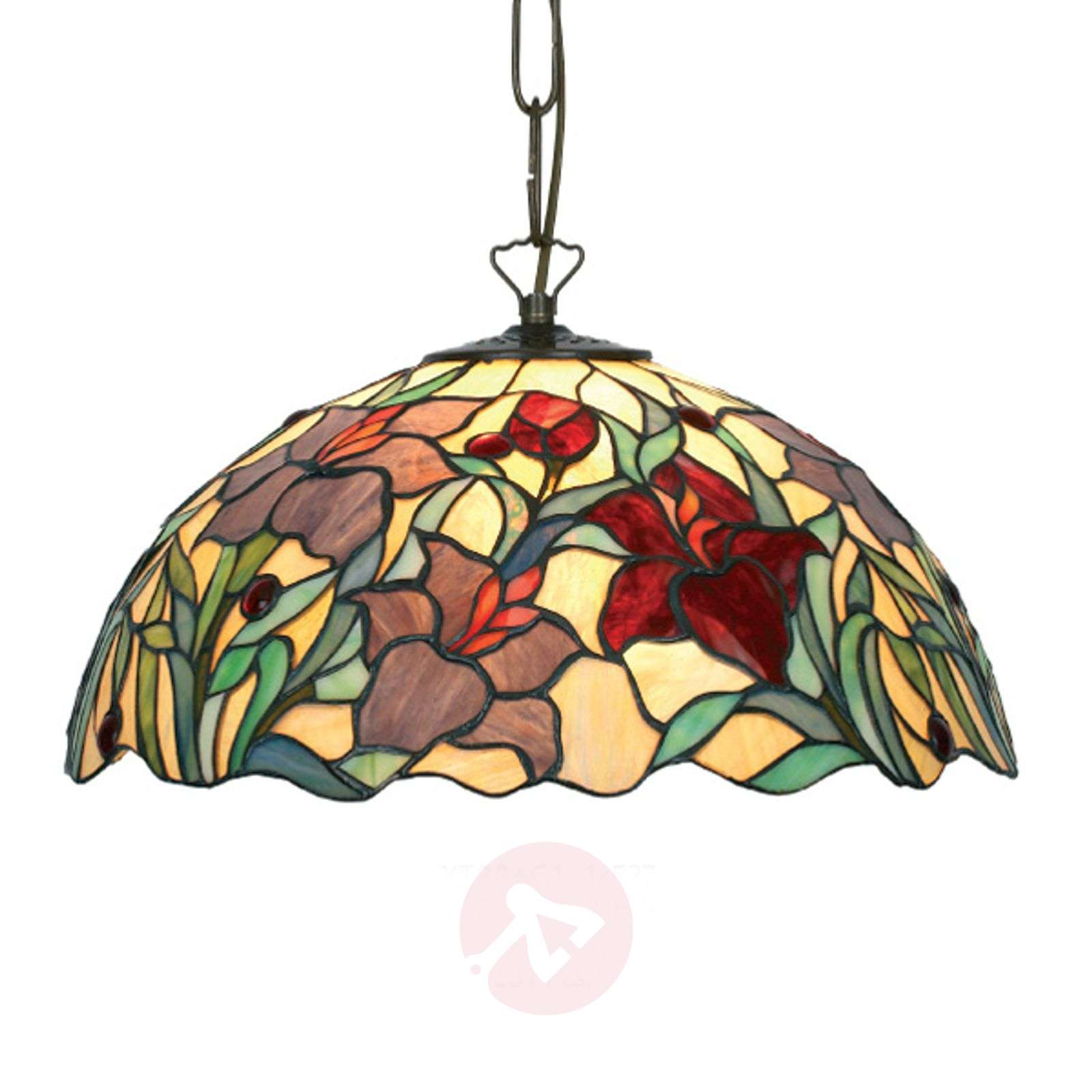 Mooie hanglamp Athina in Tiffany-stijl-1032136X-01