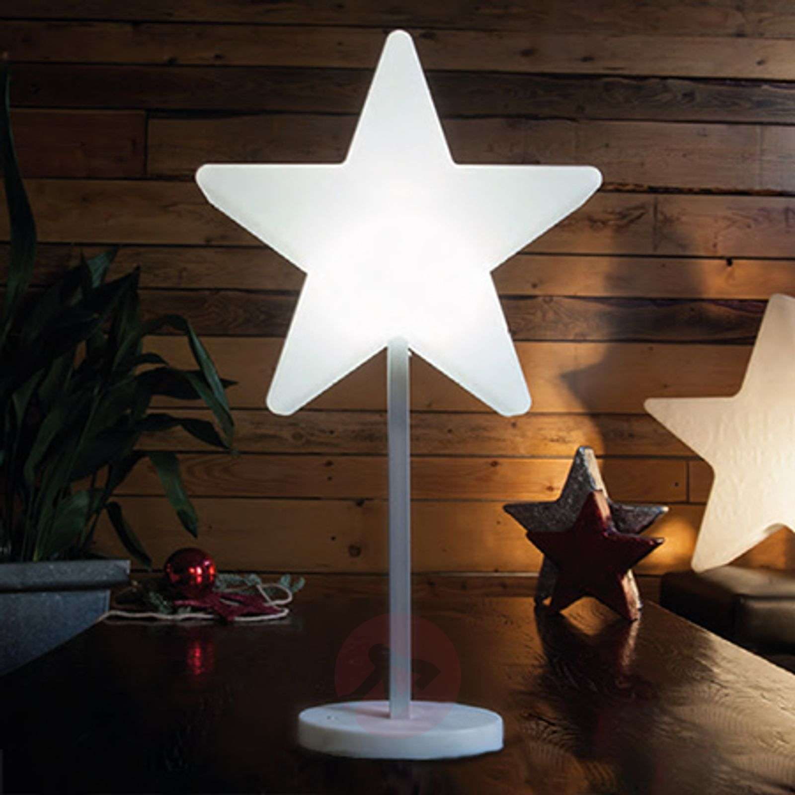 Mooie LED-decoratielamp Shinig Window Star-1004095-01