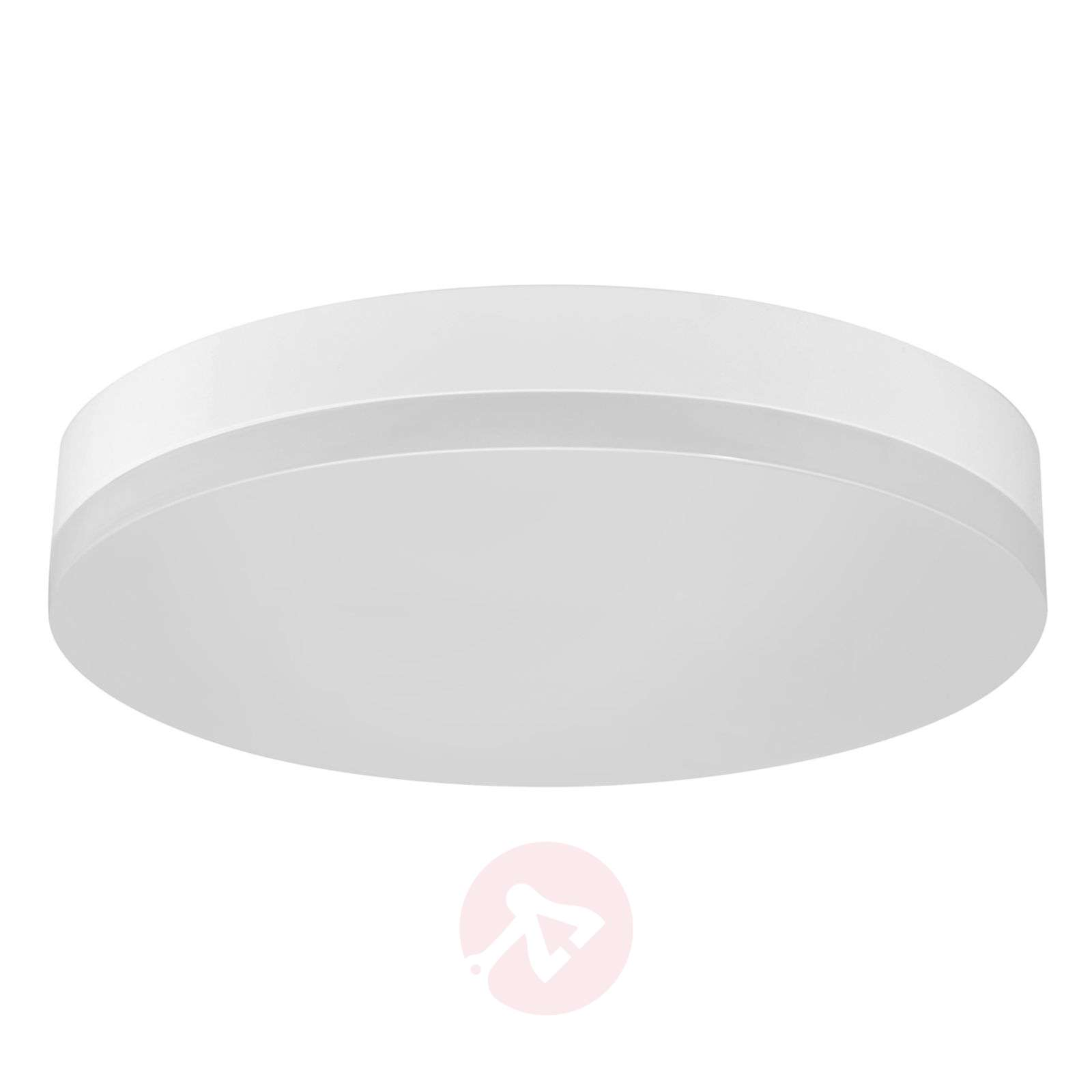 Office Round LED plafondlamp IP44, warm wit-8559228-01