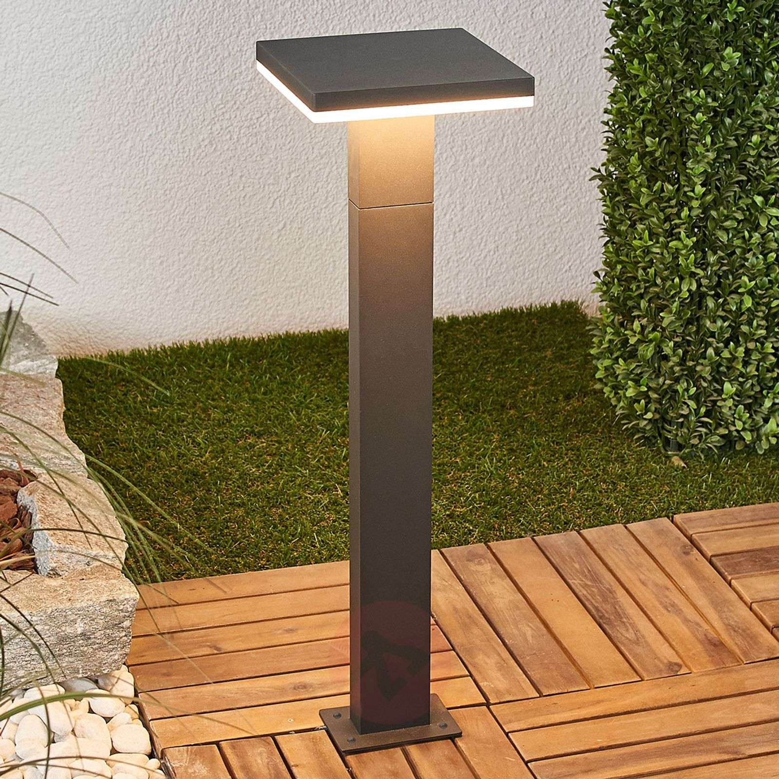 Olesia LED tuinpad verlichting in donkergrijs-9619141-03