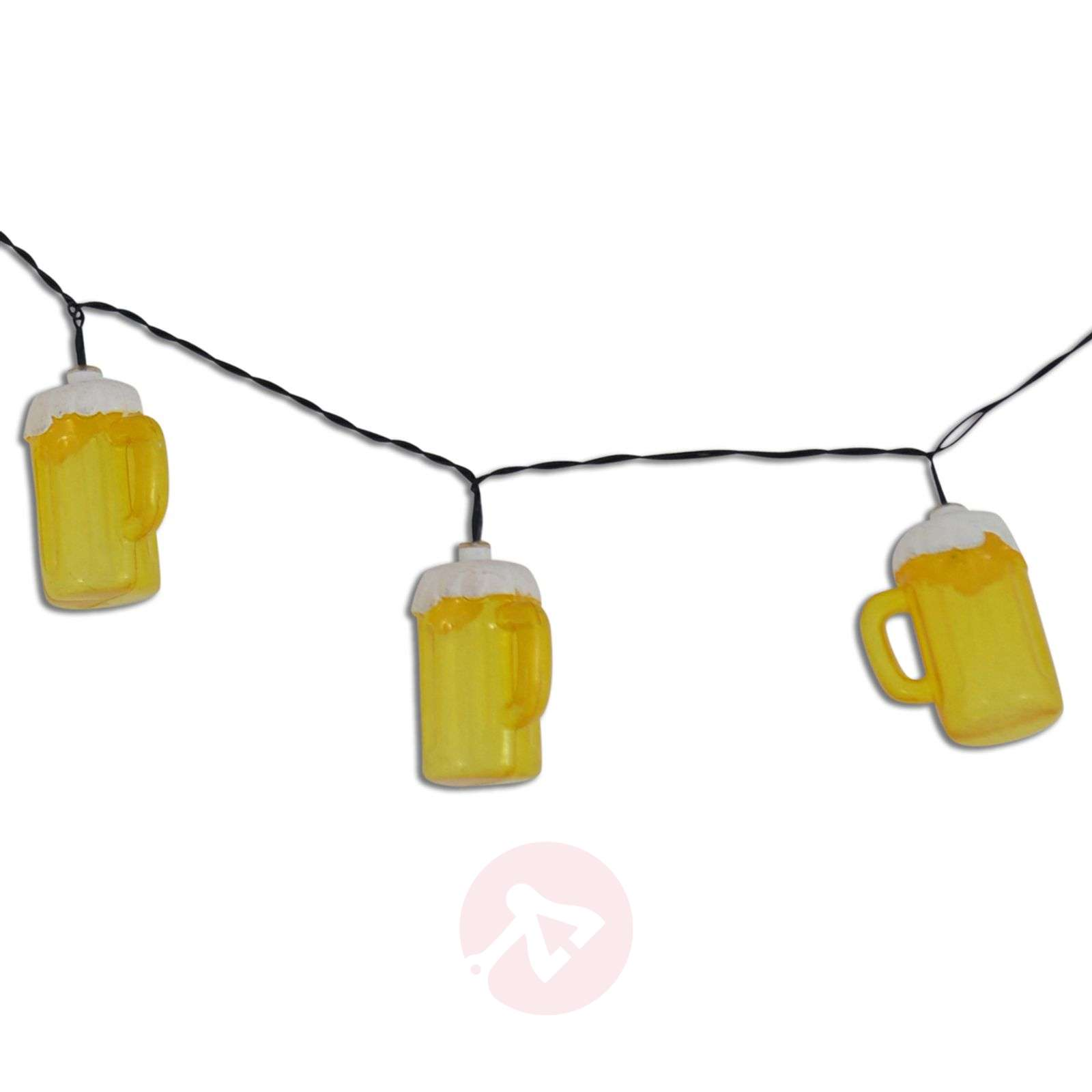 Party lichtketting Cerveza met bierpullen