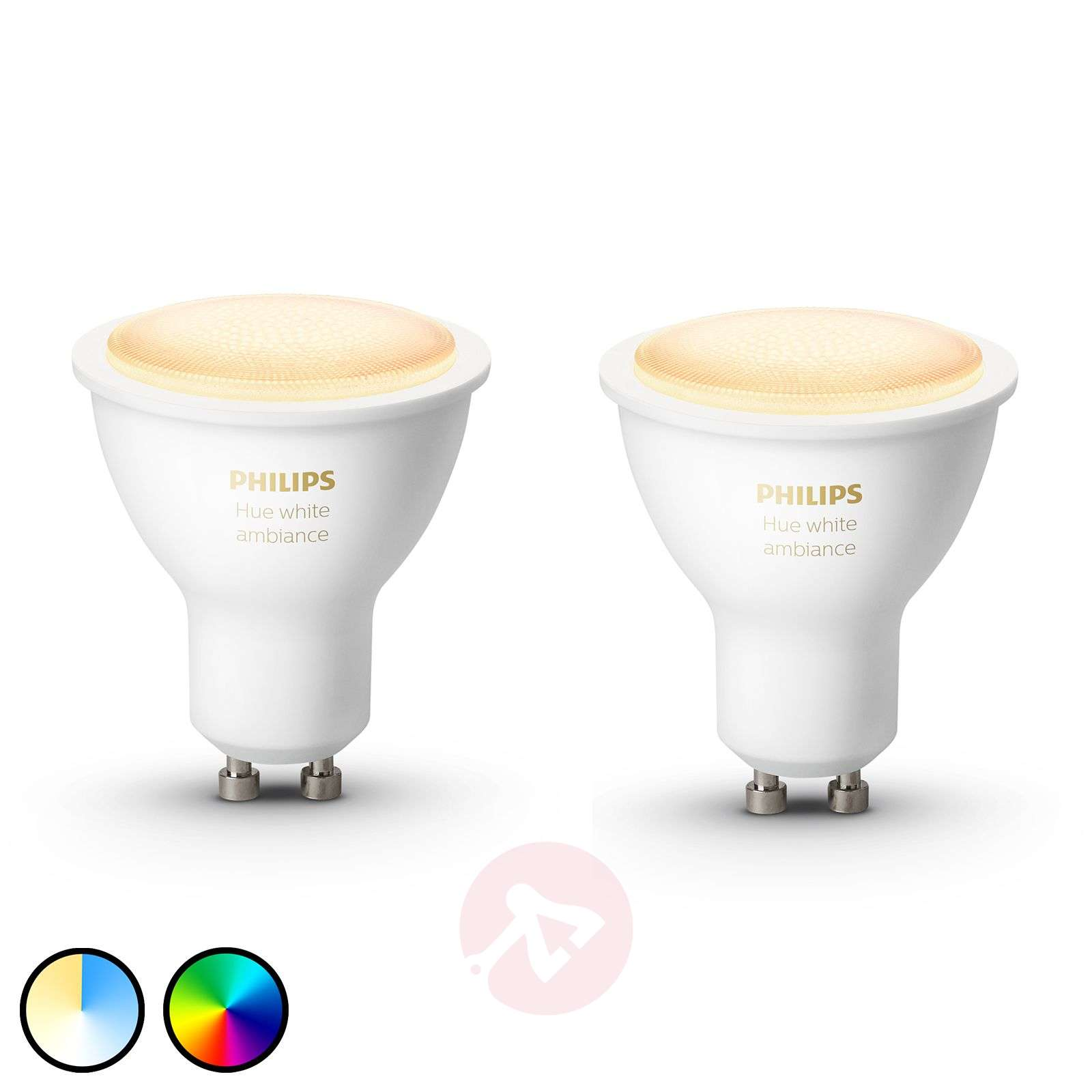 Philips Hue White Ambiance 5 W GU10 LED, set van 2-7534132-01