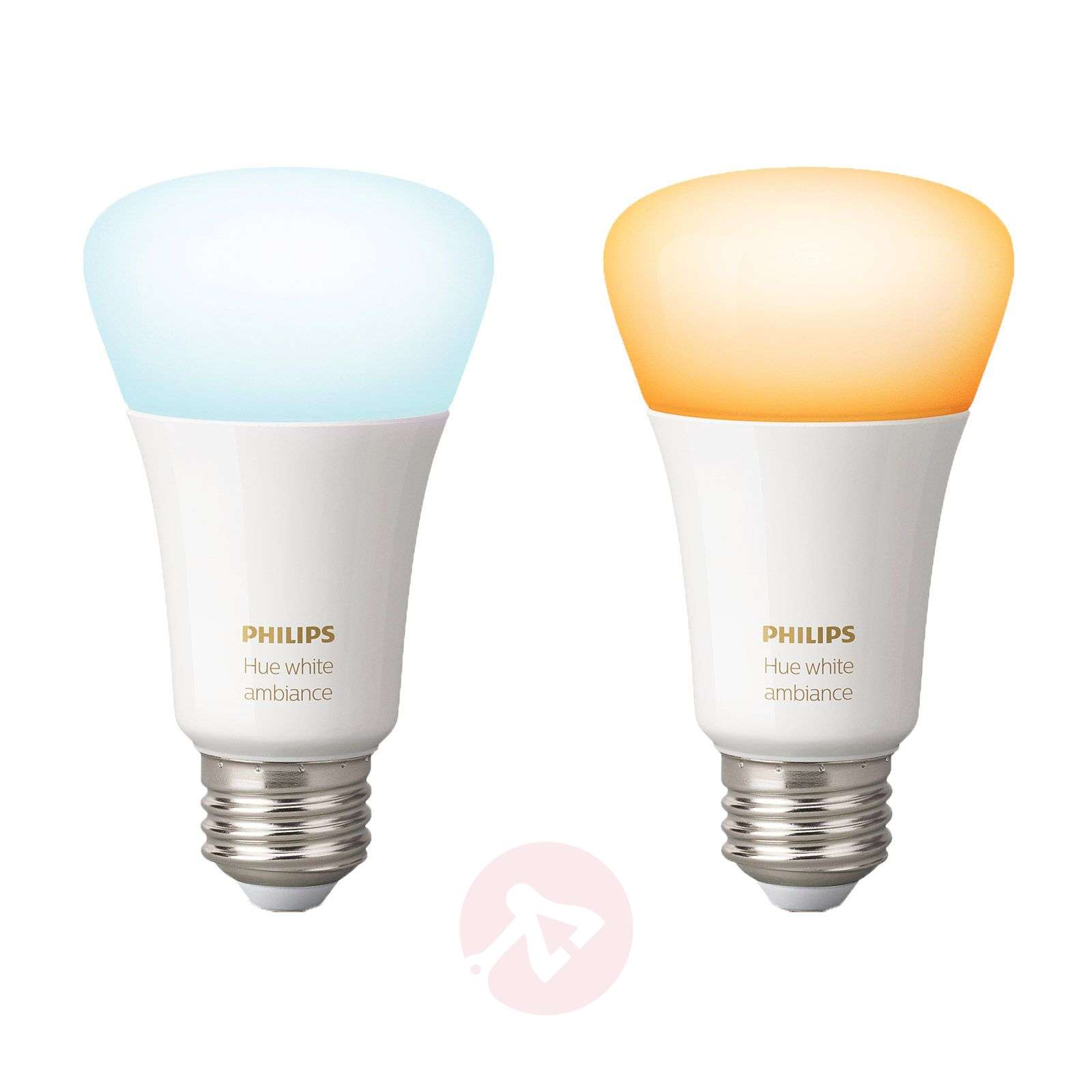Philips Hue White Ambiance E27 8,5W, set van 2 st.-7534127-01