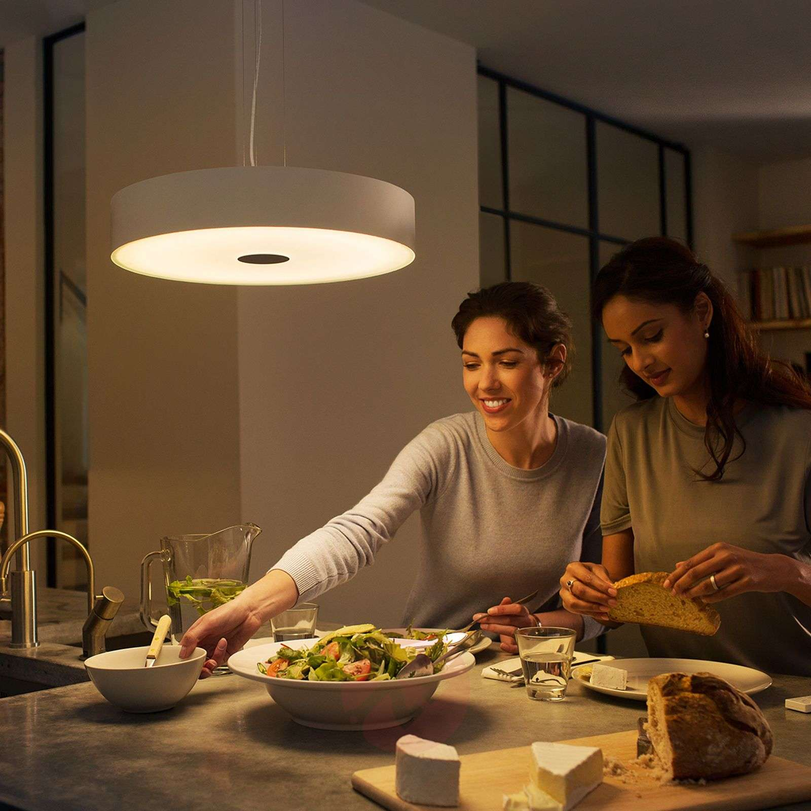Philips Hue White Ambiance Fair hanglamp wit-7531875-01