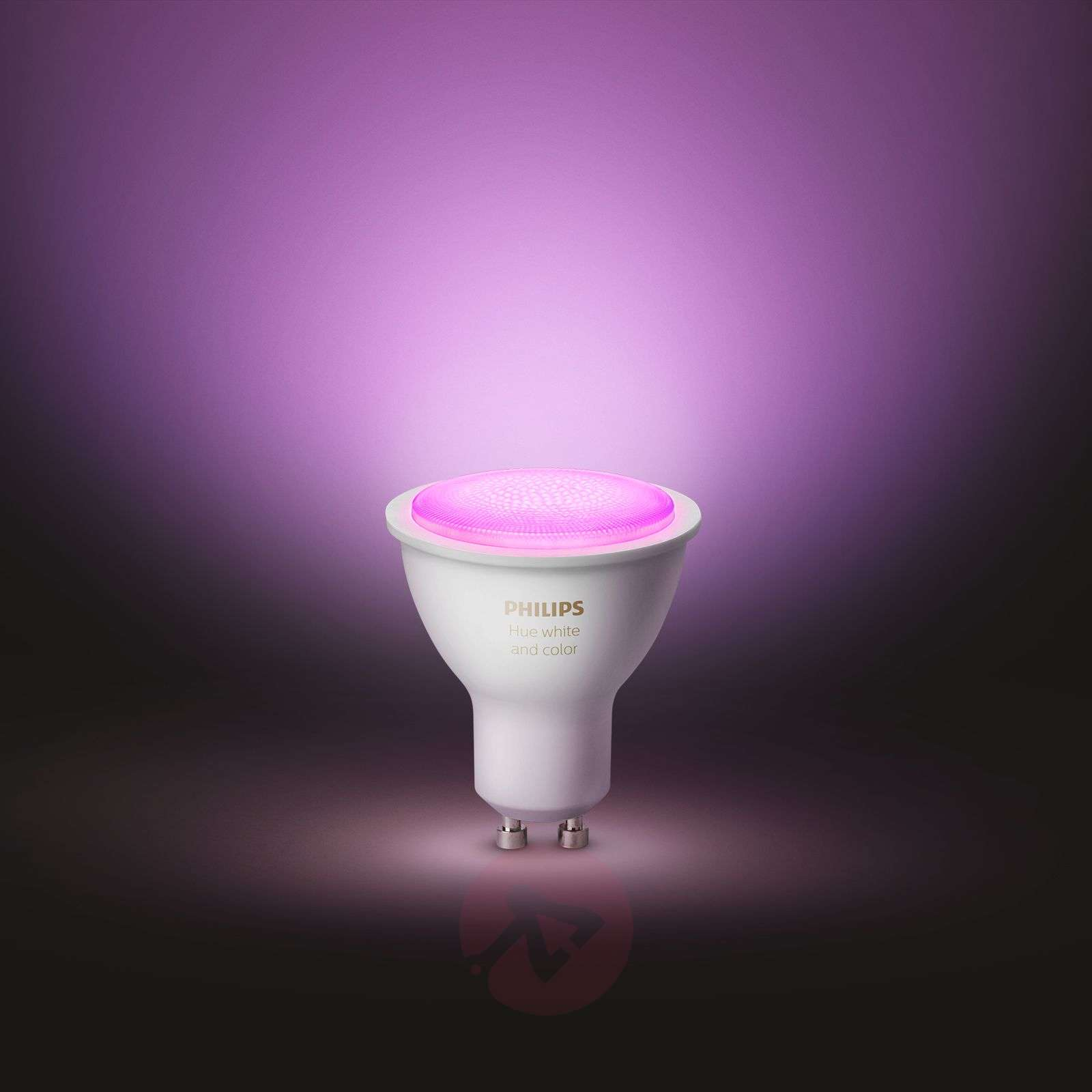 Philips Hue White and Color Ambiance 5,7W GU10, 2 st-7534131-01