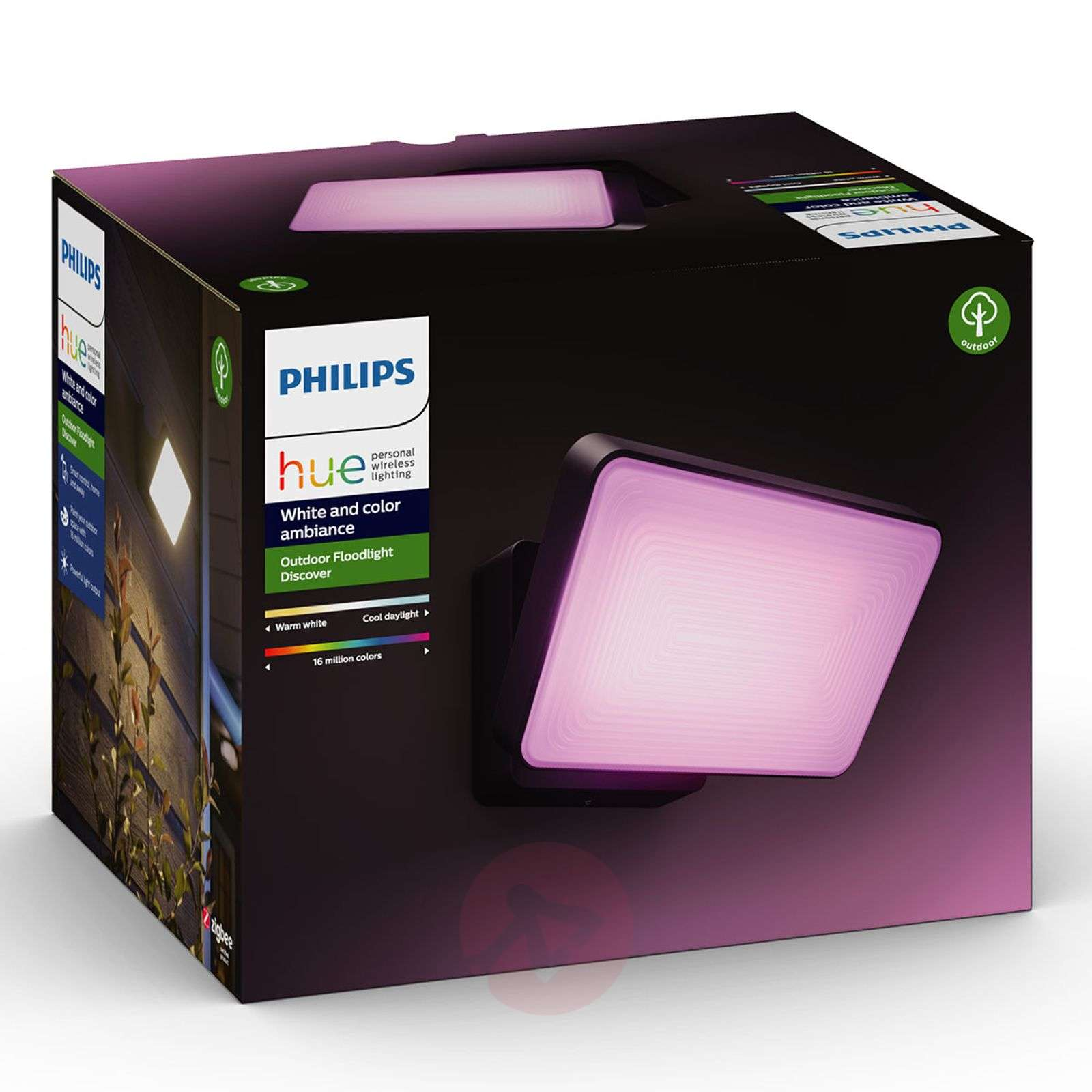 Philips Hue White+Color Discover LED buitenspot-7534102-01