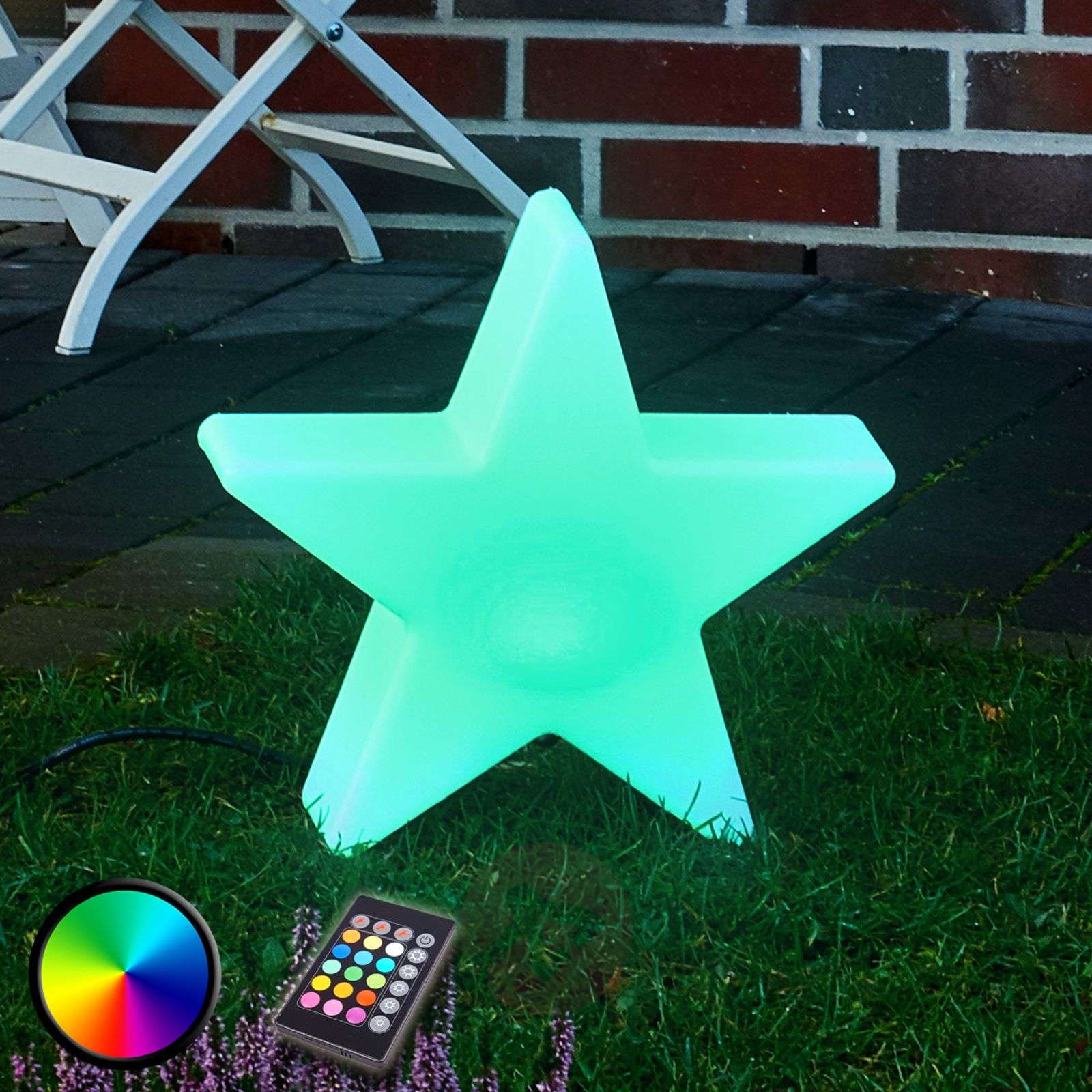 Shining Star 100 LED-buitendecoratielamp RGB 1-1004080-01