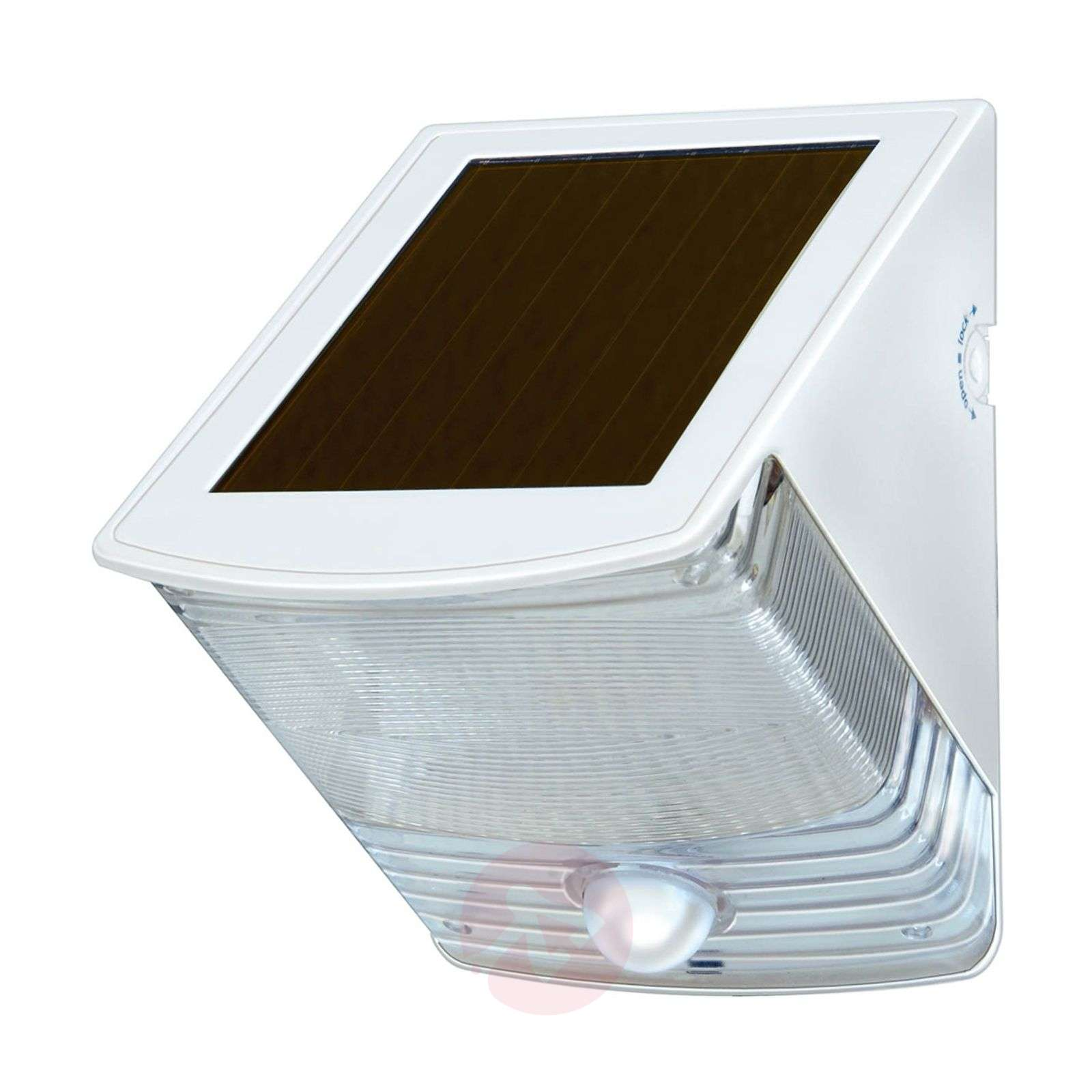 Solar-LED-wandlamp SOL 04 IP44 wit