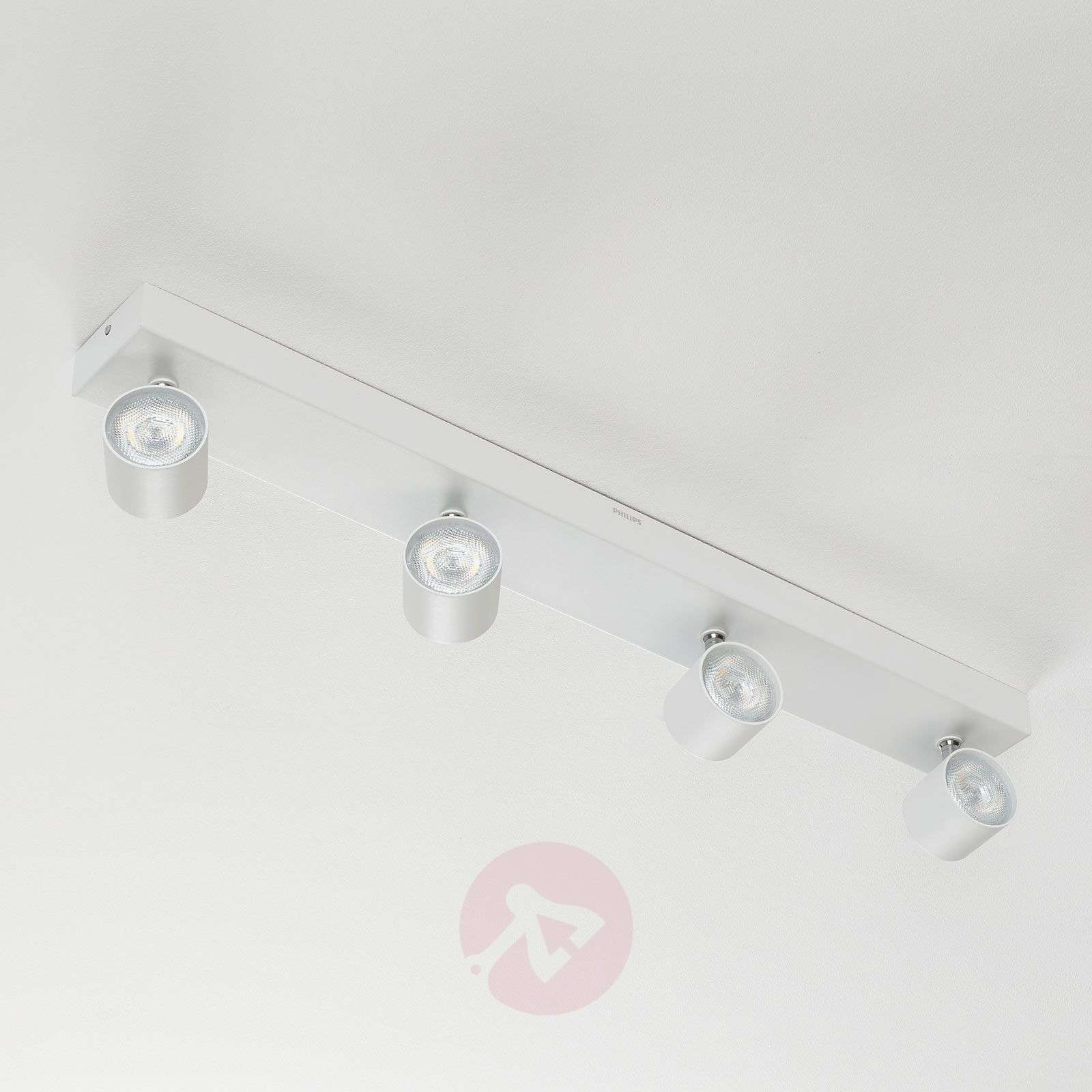 Star 4-lamps LED plafondspot wit, warmglow-7531965-02