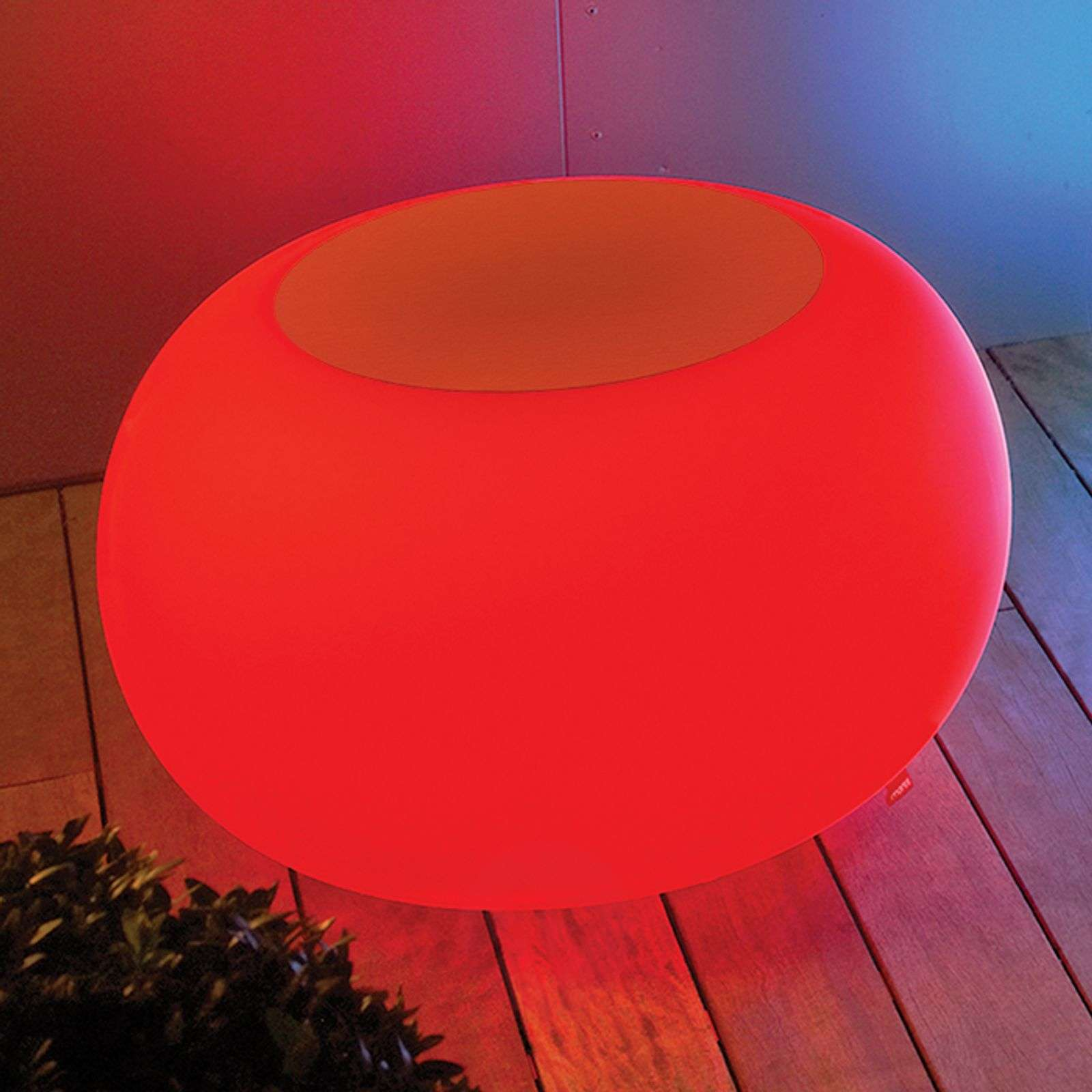 Tafel BUBBLE, RGB-LED met oranje vilt-6537070-01