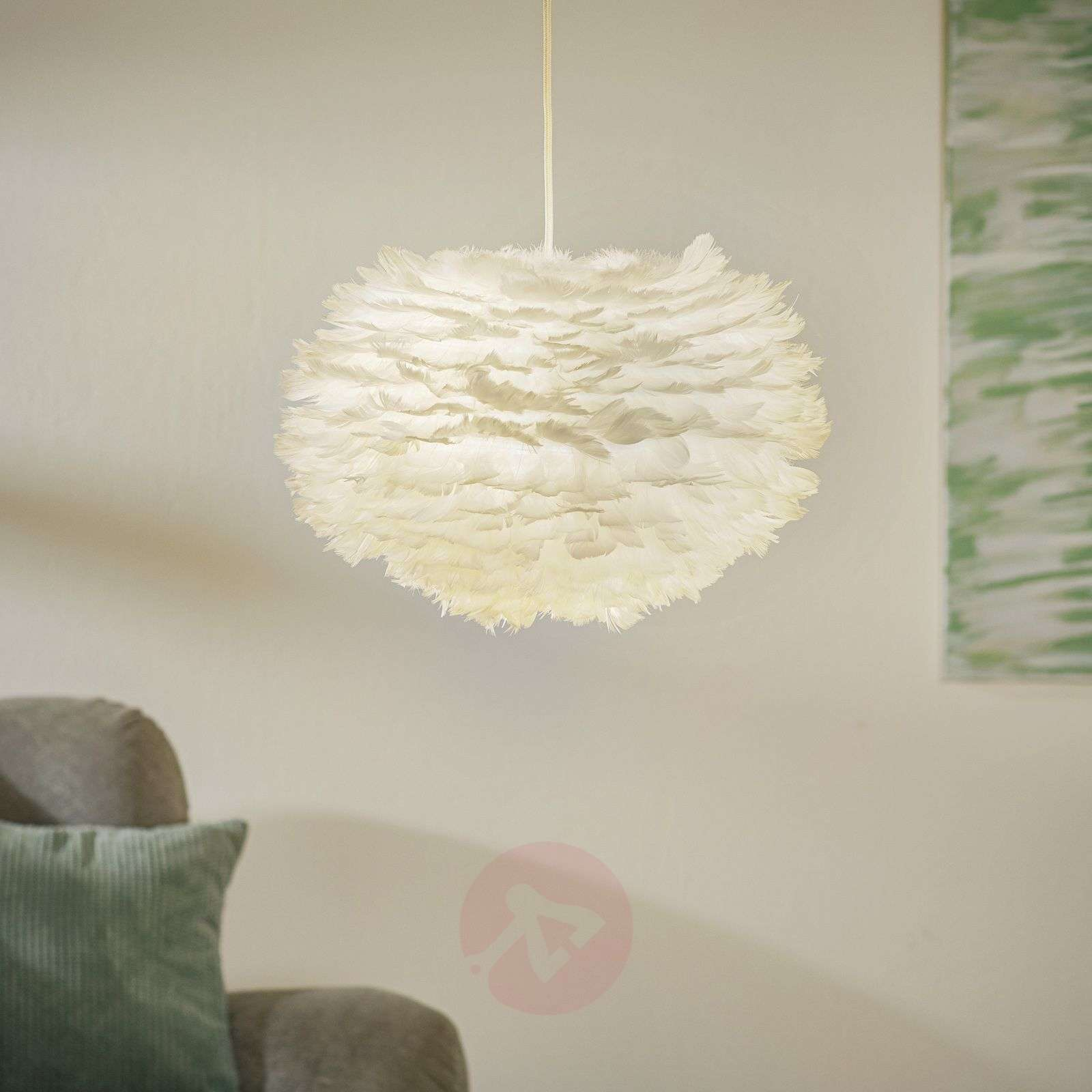 UMAGE Eos hanglamp medium, wit-9521031-01