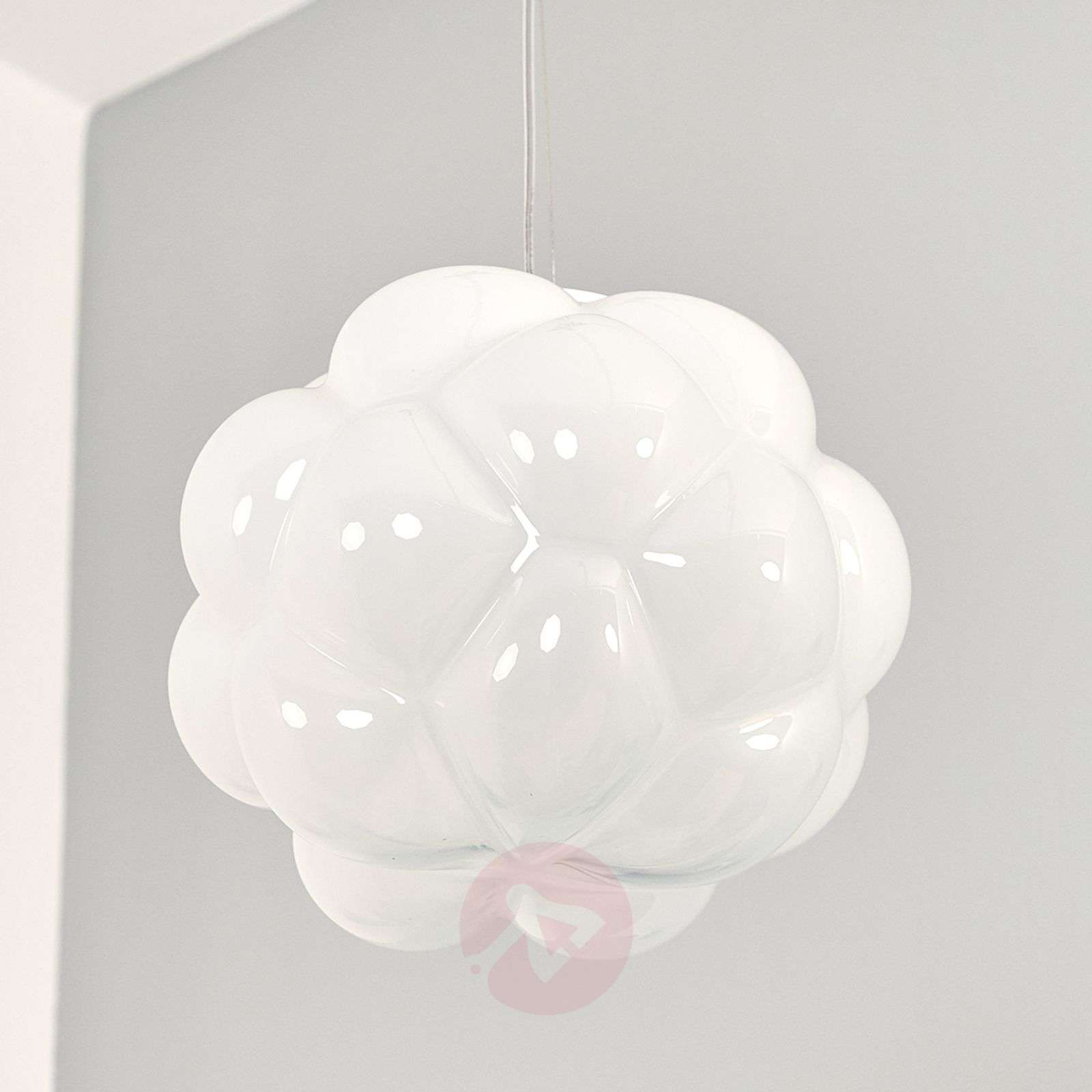 Wolkvormige LED hanglamp Cloudy, 26 cm-3503192-03