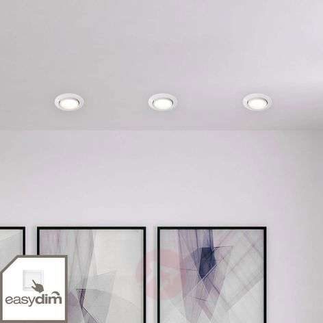 3-delige set easydim-inbouwlampen Honor met LED's