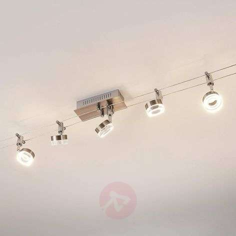 5.lamps LED kabeverlichting Enio