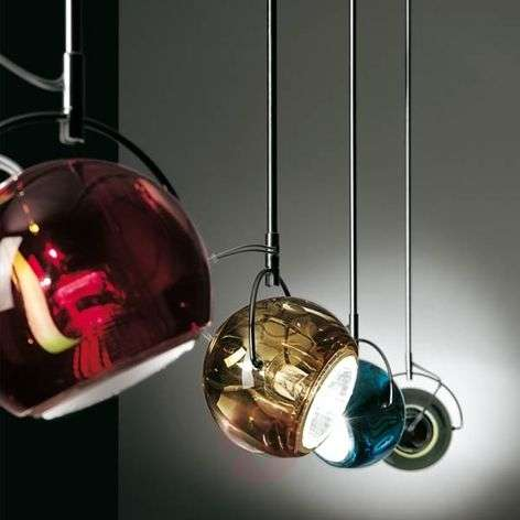 Chique design-hanglamp BELUGA COLOUR
