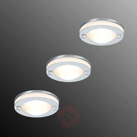 Deco inbouwlamp set van 3 IP65