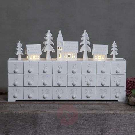 Decoratieve Adventslamp Yuletide met LED