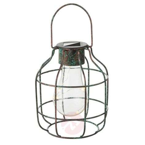 Decoratieve LED lamp Cage in vintage-look