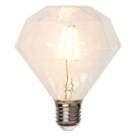 E27 3,2W 827 Ledlamp, diamantvormig