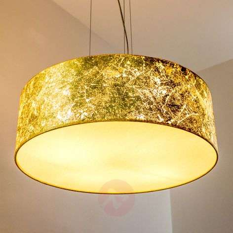 Gouden pendellamp Aura - made in Germany