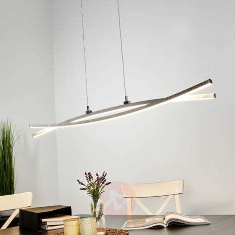 Gracieuze LED hanglamp Florentina in zilver-9994117-32