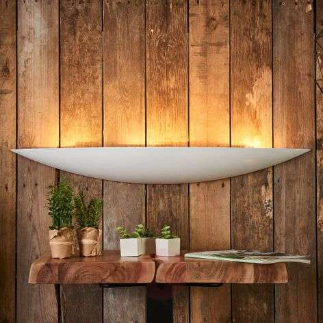 Grote gips wandlamp Tommi in wit-9613070-35
