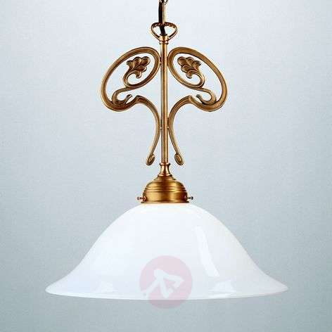 Hanglamp EWALD van Berliner messing