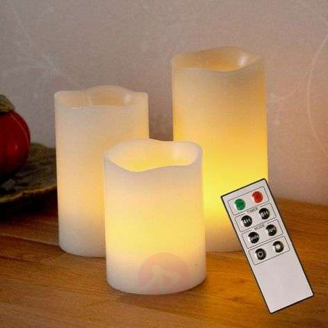 Led CANDLE WAX 2 met afstandsbediening