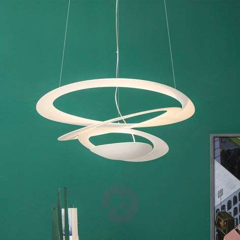 LED design hanglamp Pirce Micro in wit
