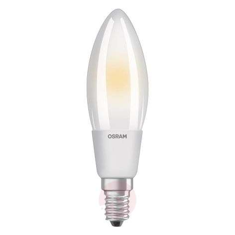 LED gloeidraad lamp E14 6W, warmwit, dimbaar