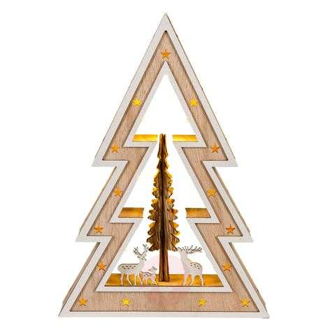 LED kerstboom stijl Country Style